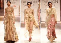 clothes I wish I had. ➝ Anju Modi Autumn Winter 2014 Pakistani Outfits fe518e4a05