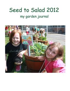 "Terri is a parent at Atlantic Avenue Elementary in Haddon Heights, NJ. ""The children got to learn how to design a garden, choose the veggies that will grow in the garden, plant the seeds, maintain the garden and during our last session we enjoyed the harvesting with a garden salad party!  The children also kept a garden journal to track and record the changes in their gardens."" #diggingdeeper"