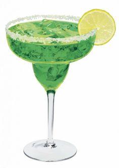 St. Patrick's Day: Sour Apple Margarita