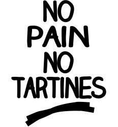 Sweat No Pain No Tartine