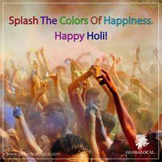 Wish You a Very Happy Holi!  #Happyholi #Holiwishes #Colourfestival #Colours #Festivemonth #safeholi