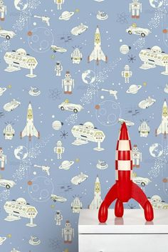 We just love the bright, fun patterns of Design Meets Life's wallpaper range for kids.