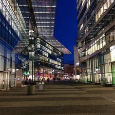 Just follow the lights  #berlin #architecture
