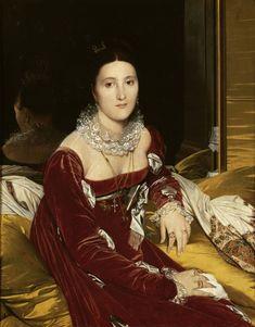 Madame de Senonnes (1806), by Jean-Auguste-Dominique Ingres (French, 1780-1867)