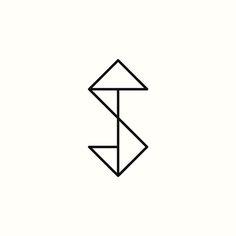 ST Monogram by Richard Baird. (Available). #logo #design #branding