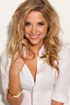 My girl crush - Ashley Benson. I'm ALWAYS so jealous of her hair!!