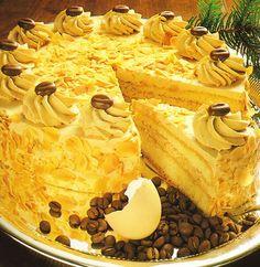 Tort kawowy z bitą śmietaną - Zdjęcie 1 z 1 - przepisy.net