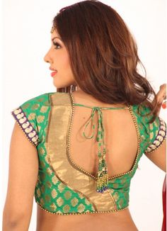 Latest patch work blouse designs 2019 - New Blouse Designs Choli Designs, Pattu Saree Blouse Designs, Blouse Designs Silk, Designer Blouse Patterns, Sari Blouse, Dress Patterns, Patch Work Blouse Designs, Simple Blouse Designs, Blouse Back Neck Designs