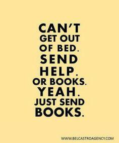Send books.