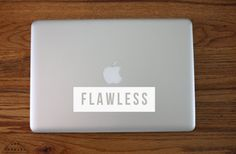Flawless Laptop Decal / Yonce Decal / Beyonce by ArtForwardDecals