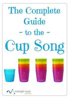 If you hear talk abo If you hear talk about the cup song.or just have no idea how to do it.this post has directions and history of the cup song. Music Lessons For Kids, Music Lesson Plans, Music For Kids, Piano Lessons, Elementary Music Lessons, Music Activities For Kids, Music Classroom, Music Teachers, Cup Song