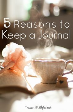 5 reasons I keep a journal (and margin symbols to help you find what you've written!).