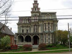 Montgomery House is a historic building in Claysville, Pennsylvania. It was built in 1880 in the Second Empire / Italinate style of architecture.