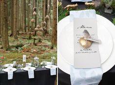 Piękne leśne inspiracje na ślub i wesele •