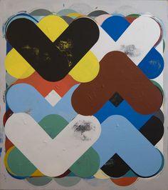 Jeff Depner   Reconfigured Grid painting no. 11  http://jeffdepner.com/painting/2010/