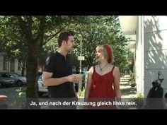 A1: Wie komme ich zum Bahnhof?. Ein kompletter Dialog mit Untertiteln. World Languages, Classroom Language, Learn German, German Language, Cool Websites, Videos, Documentaries, Youtube, Germany