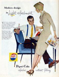 Pepsi vintage ad