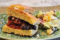 Day 27: Meatball Mini-Sub on Focaccia   #veganpopup #vegan #food #dinner #focaccia