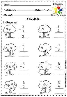 Kindergarten Addition Worksheets, First Grade Math Worksheets, Kindergarten Math Activities, Kids Learning Activities, Preschool Math, Kindergarten Worksheets, Learning English For Kids, Numbers Preschool, Math For Kids