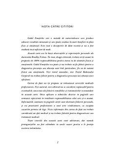 Bradley Nelson - Codul Emotiilor Pdf, Note