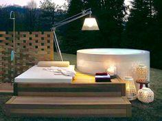 Mini Pool, Kos, Bath Caddy, Bauhaus, Land Scape, Outdoor Living, Wellness, Indoor, Exterior