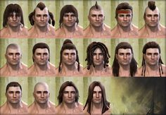 norn male hairstyles http://wiki.guildwars2.com/images/d/d5/Norn_male_hair_styles.png