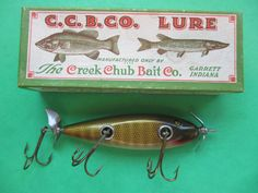 1930s CCBC Injured Minnow in the box.