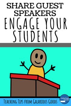 Share guest speakers: Engage your students. A blog post exploring why you should invite guest speakers into your classroom and how you can prepare your students to get the best out of your students.