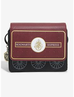 The perfect carry-on bag. This maroon and white bag from Harry Potter features a Hogwarts Express ticket design. A BoxLunch x x Harry Potter Deathly Hallows, Harry Potter Hogwarts, Handbags Online, Purses And Handbags, Tom Riddle Diary, Danielle Nicole Disney, Disney Kingdom Hearts, Marie Aristocats, Gift Card Shop
