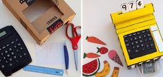 Caja registradora de cartón #juguetes #manualidades #DIY