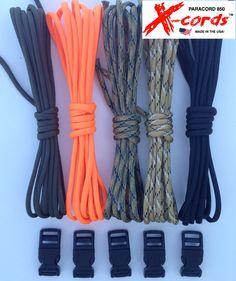 paracord 850 survival bracelet kit makes 5 of the strongest paracord bracelets high quality paracord 850