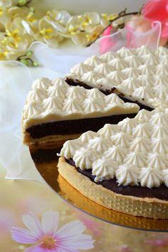 Marcipános-fehércsokoládés pite recept - Kifőztük, online gasztromagazin Vanilla Cake, Camembert Cheese, Eat, Food, Mascarpone, Tarts, Recipies, Essen, Meals