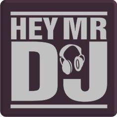 Hey Mr DJ Logo Design                                                                                                                                                     More