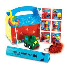Amazon.com: Chuggington Party Favor Box Party Accessory: Toys & Games