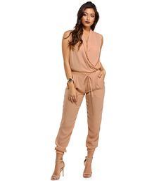 Pink Nothing Less Jumpsuit