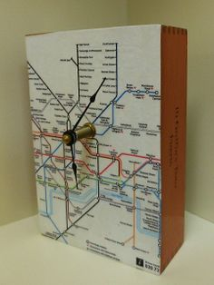 upcycled cigar boxes | London Underground Map Upcycled Cigar Box Wood ... | Cigar box Crafts