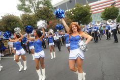 Pantherettes before the game! #GSU #Panthers Slideshow: Kickoff 2012 — Georgia State University