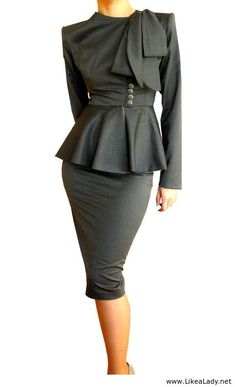 40s womens suits with peplum | Related posts: