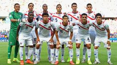 FIFA World Cup 2014 - Costa Rica players pose for a team photo before the 2014 FIFA World Cup Brazil Group D match between Uruguay and Costa Rica at Castelao on June 14, 2014 in Fortaleza, Brazil. (Photo by Laurence Griffiths/Getty Images)Copa Mundial de la FIFA 2014