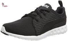 Puma Carson Run Knit - Sneakers Basses - Homme - Noir (Periscope-Black) - 42 EU (8 UK) - Chaussures puma (*Partner-Link)