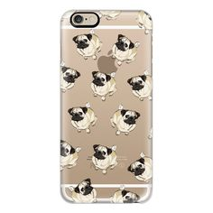 iPhone 6 Plus/6/5/5s/5c Case - PUG PATTERN (1.150 UYU) ❤ liked on Polyvore featuring accessories, tech accessories, iphone case, iphone cases, vista print iphone case, iphone cover case and apple iphone cases