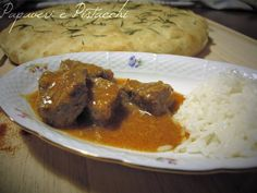 Gulasch e Riso Basmati con Pentola a Pressione My Favorite Food, Favorite Recipes, Hungarian Recipes, Pork, Food And Drink, Pasta, Beef, Cooking, Instant Pot