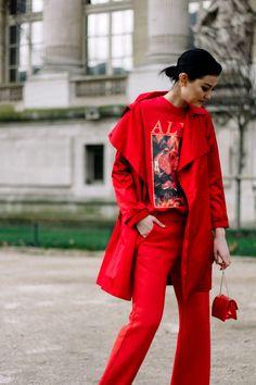Street Style Paris Fashion Week Otono Invierno 2017 | Galería de fotos 31 de 347 | VOGUE