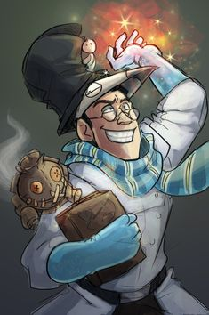 Tf2-Magic Medic by MadJesters1 on DeviantArt