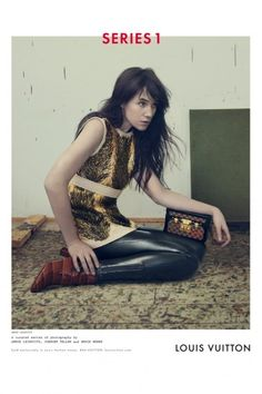 """Nicolas Ghesquière's first """"curated"""" Louis Vuitton campaign: Bruce Weber, Annie Leibovitz and Juergen Teller. The ads feature Charlotte Gainsbourg and models Liya Kebede, Freja Beha Erichsen and Jean Campbell."""