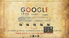 The Retro Google Desktop