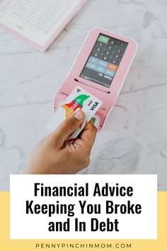 Financial advice is great – when it is the right type of advice. There are tips and strategies that can make you money. However, there is also a lot of advice that will do nothing but keep you broke and in debt. These are things you don't want to listen to. Financial Literacy, Financial Tips, Money Problems, Get Out Of Debt, Managing Your Money, Budgeting Money, Money Management, Money Saving Tips, Way To Make Money