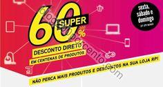 Super 60% RADIO POPULAR promoções de 27 a 29 maio - http://parapoupar.com/super-60-radio-popular-promocoes-de-27-a-29-maio/
