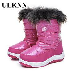 Encontrar Más Botas Información acerca de Uovo niños Botas de nieve ... c9c349bba40a