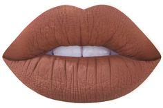 shroom brown matte liquid lipstick by Lime Crime